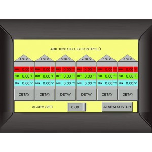 ABK 1036 Touch Control Panel